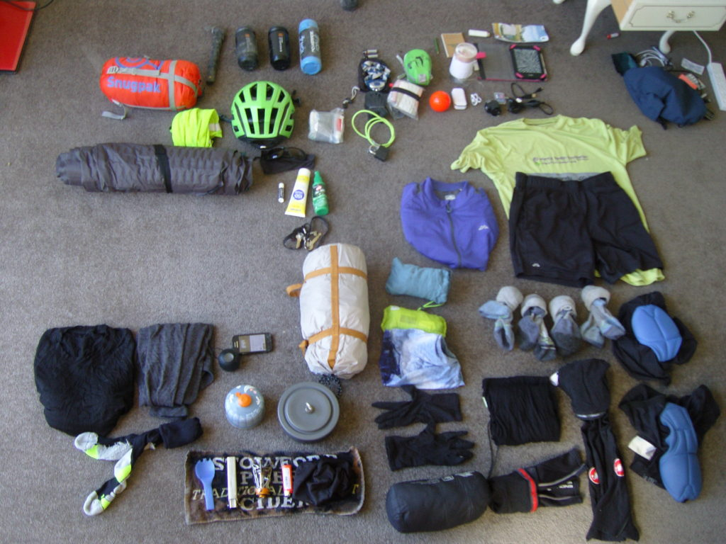 bikepacking kit touring new zealand